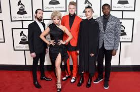 E Red Carpet Grammys Grammy Nominations 2017 Gojira Pentatonix Winger And Other