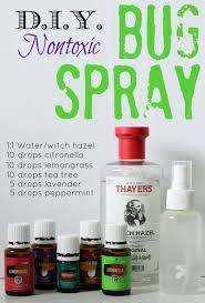 diy bug spray sprays oil and young living