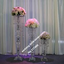 only chandelier crystal table top chandelier wedding table centerpieces withwout the flower and flower vase stand in glow party supplies from home garden