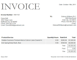 Invoice Template Free Excel Bank Invoice Format Excel Template Project Management Business