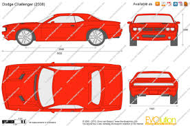 the blueprints com vector drawing dodge challenger