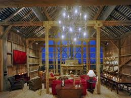 Barns Turned Into Homes by Fresh Interior Design Pottery Barn Living Rooms Room Lighting Idolza