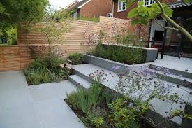 Granite Patio Stones Blue Grey Granite Paving Has Been Used In This Award Winning