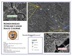 Ohio University Parking Map by Kenduskeag Stream Canoe Race Stream Maps