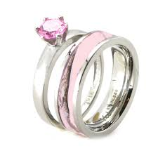pink camo wedding rings cheap wedding rings for women kingswayjewelry