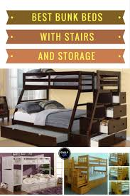 Bunk Bed With Stairs And Drawers The Best Bunk Beds With Stairs And Storage That Make Bedrooms Look