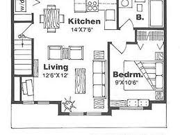 One Bedroom House Plans With Photos by Plan Under 500 Sq Ft Standard Floor Plan One Bedroom House Plans