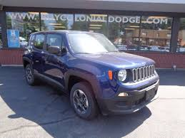 purple jeep 2016 jeep renegade sport 4x4 in jetset blue for sale in boston ma