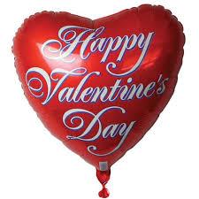 valentines balloons heart shaped balloons partyrama
