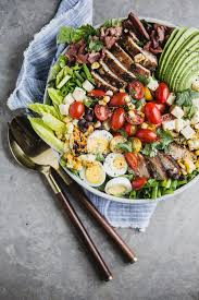 southwest style cobb salad with smoky chipotle u2026 the modern proper