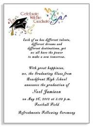 high school graduation announcement wording beautiful college graduation party invitation wording sles as