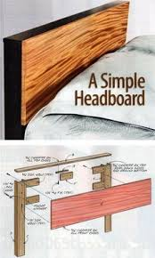 Headboard Woodworking Plans by Platform Bed Plans Furniture Plans And Projects Woodarchivist