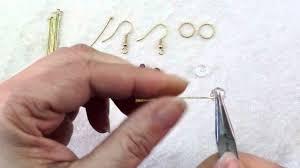 make dangle earrings how to make rings crystals dangle earrings