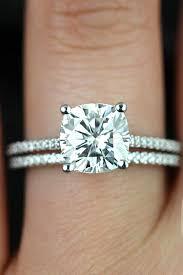 engagement rings cushion cut beautiful cushion cut engagement rings 25 best ideas hair styles