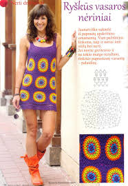 crochet colorful dress for beach crafts ideas crafts for kids