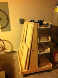 Wood Storage Rack Plans by The Garage Out Of Way I Plan On Making A Wall Mounted Lumber