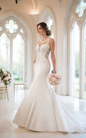 wedding dressed mermaid wedding dresses beaded mermaid wedding gown stella york