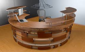home office receptionist desk design salon reception awesome bar