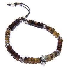 bracelet skull beads images Silver skull beads on tourmaline men 39 s bracelet lazaro soho jpg