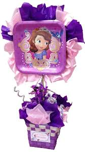 Centerpieces Birthday Tables Ideas by Sofia The First Table Centerpiece Bella U0027s Princess Sofia Party