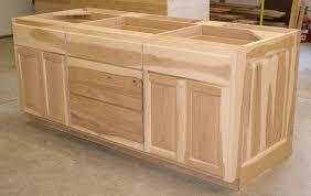hickory kitchen island hickory cabinets
