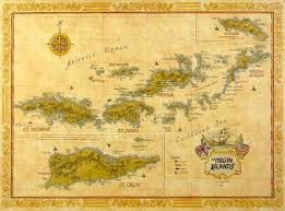 st islands map map of the islands beautiful color postcards of the