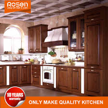 solid wood kitchen furniture china sharker style wholesale walnut solid wood kitchen