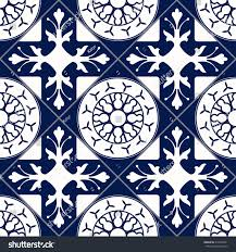 moroccan tile vector moroccan tile seamless pattern design stock vector