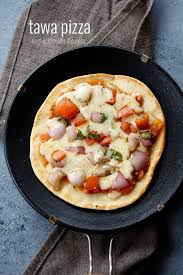 Stovetop Pizza Oven Tawa Pizza Recipe No Yeast Tawa Pizza Recipe Veg Pizza On Stove Top