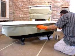 Refinishing Old Bathtubs by How To Refinish An Antique Bathtub Hgtv