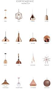 Copper Pendant Lights Home Trends Copper Pendant Lighting Copycatchic