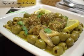 recette de cuisine viande tajine de viande hachée aux olives amour de cuisine