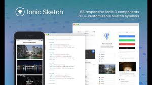 free ionic sketch template youtube