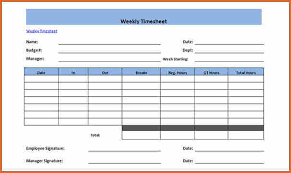 weekly timesheet template free excel timesheet template multiple