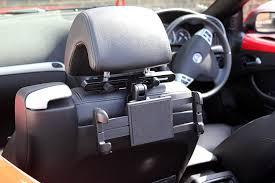 support tablette voiture entre 2 sieges support voiture d appuie tête 180 pour tablettes samsung galaxy tab