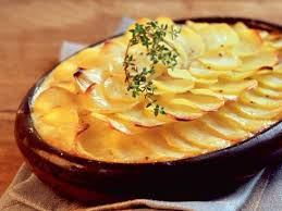 cuisine gratin dauphinois gratin dauphinois recettes femme actuelle
