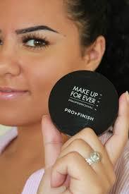 review make up for ever pro finish powder foundation najla kaddour