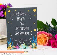 birthday cards for awesome birthday cards for men with name online greeting card