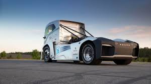 volvo lorry bbc autos make way for the world u0027s fastest truck