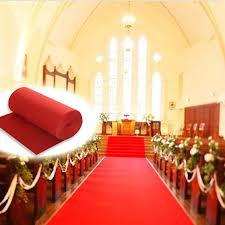 Red Carpet Rug Red Carpet Polyester Large Wedding Aisle Floor Runner Carpet Rug