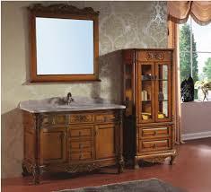 Wood Bathroom Cabinets Online Get Cheap Large Bathroom Cabinet Aliexpress Com Alibaba