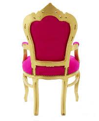 Esszimmer Stuehle Esszimmer Stühle Esstisch Stuhl Sessel Barock Antik Pink Gold
