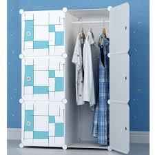 chambre armoire creative plastique bricolage armoire meubles de chambre étanche
