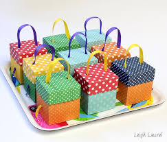 Birthday Favor Boxes by Birthday Favor Boxes By Karin Of Leigh Laurel Using A