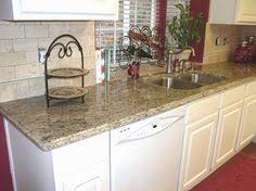 Santa Cecilia Granite White Cabinets Backsplash Ideas Inspiration - Kitchen granite and backsplash ideas