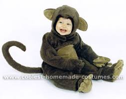 Monkey Halloween Costumes Coolest Homemade Monkey Costumes Toddlers