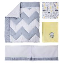 Zig Zag Crib Bedding Set Circo 4pc Crib Bedding Set Zigs N Zags Crib Crib Bedding