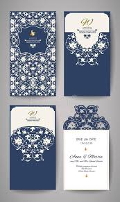wedding invitation e card wedding invitation or greeting card with gold floral ornament