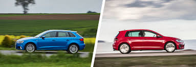 audi a3 wagon audi a3 vs vw golf u2013 side by side comparison carwow