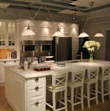 kitchen island stools and chairs black white kitchen design using marble island top including wooden